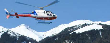 Helikopter Davos