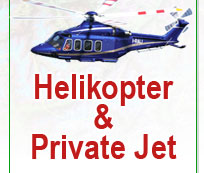 helikopter private jet